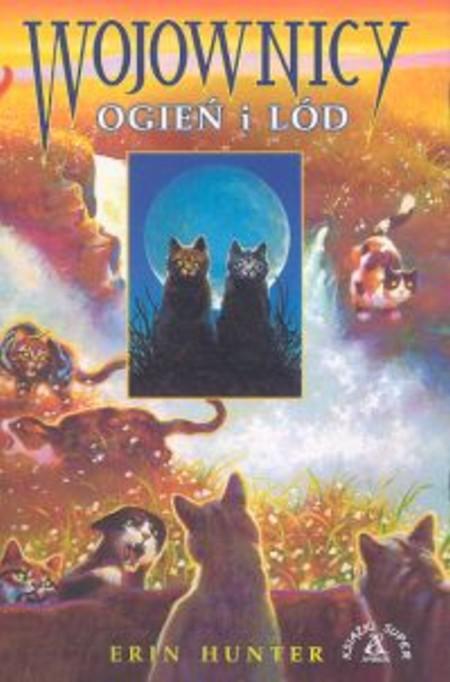 Обложки книги Коты-Воители Огонь и лёд из других стран.